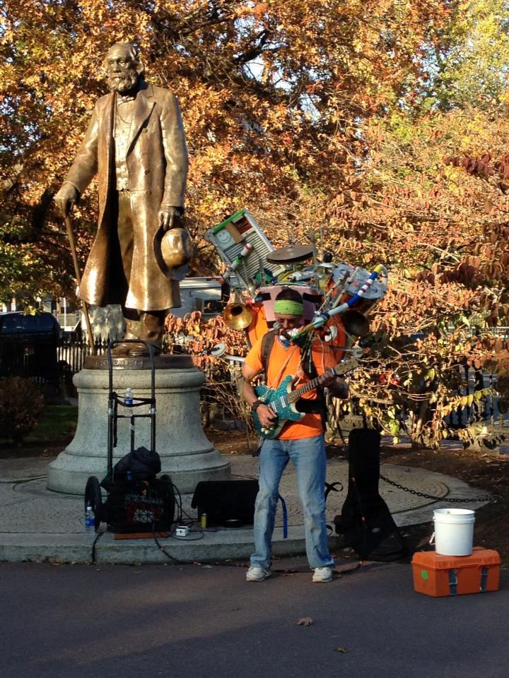 Boston Common Musician