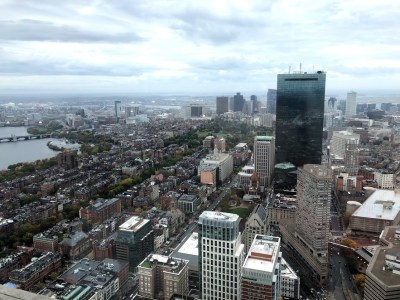 Boston - View from Prudential Center