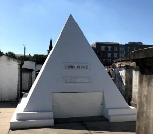 New Orleans - St Louis Cemetery Nicholas Cage