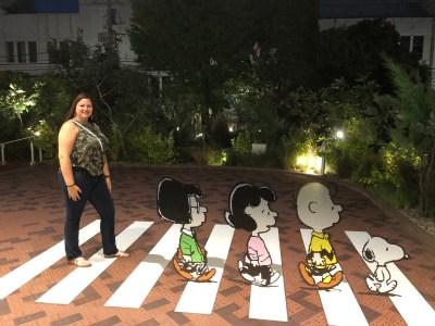Japan - Tokyo Snoopy Museum crosswalk