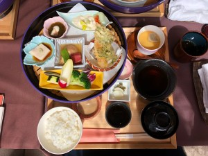 Traditional Japanese Bento Lunch