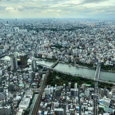 Japan - View from Tokyo Skytree