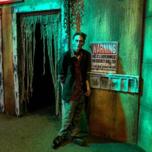 Containment Haunted House Zombie