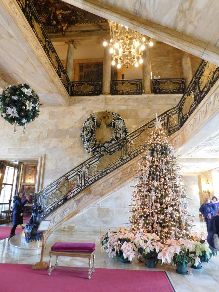 Marble House Entryway