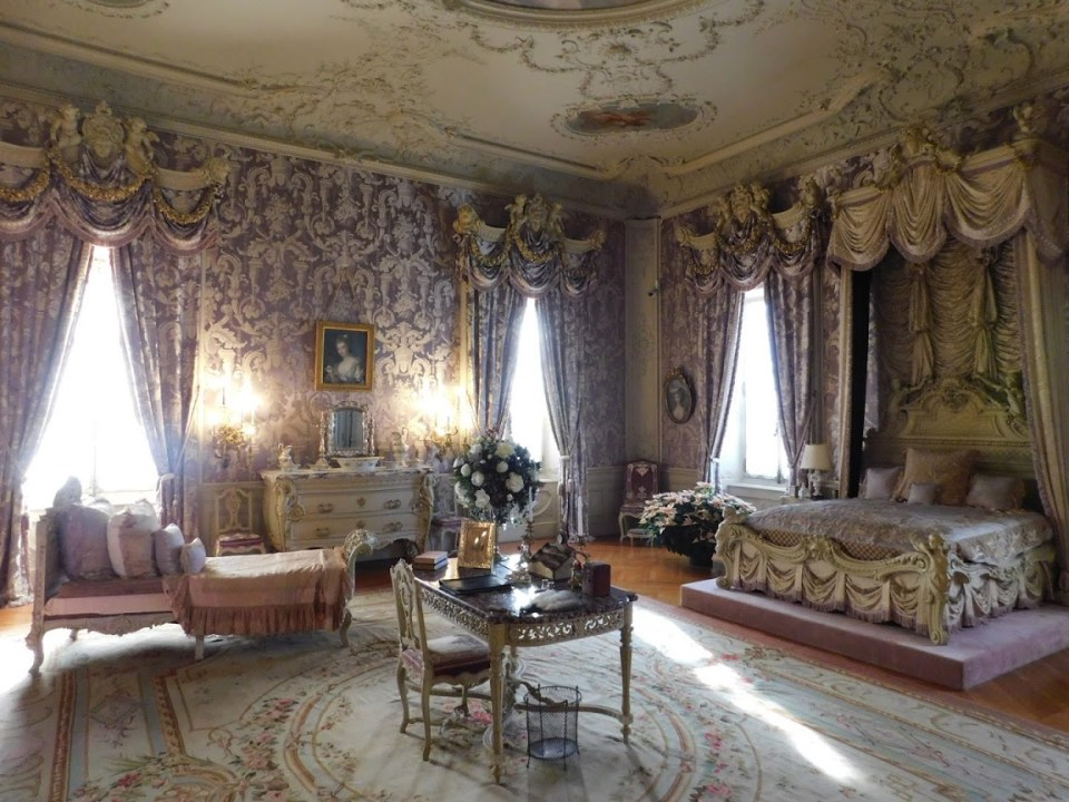 Marble House Purple Bedroom
