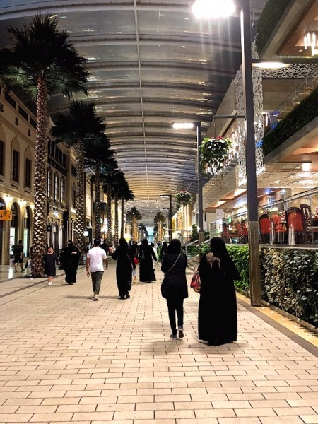 Kuwait Avenues Mall Inside