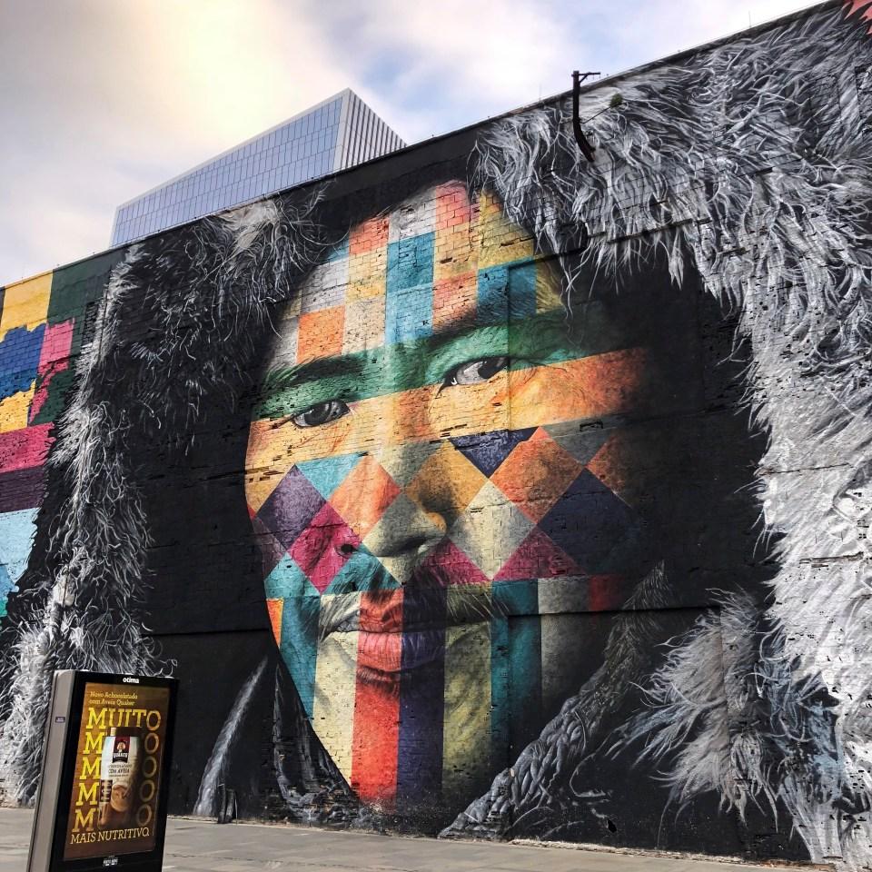 Olympic Boulevard Kobra Mural Brazil 3