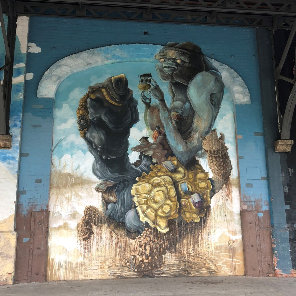 Rio Olympic Boulevard Mural 5