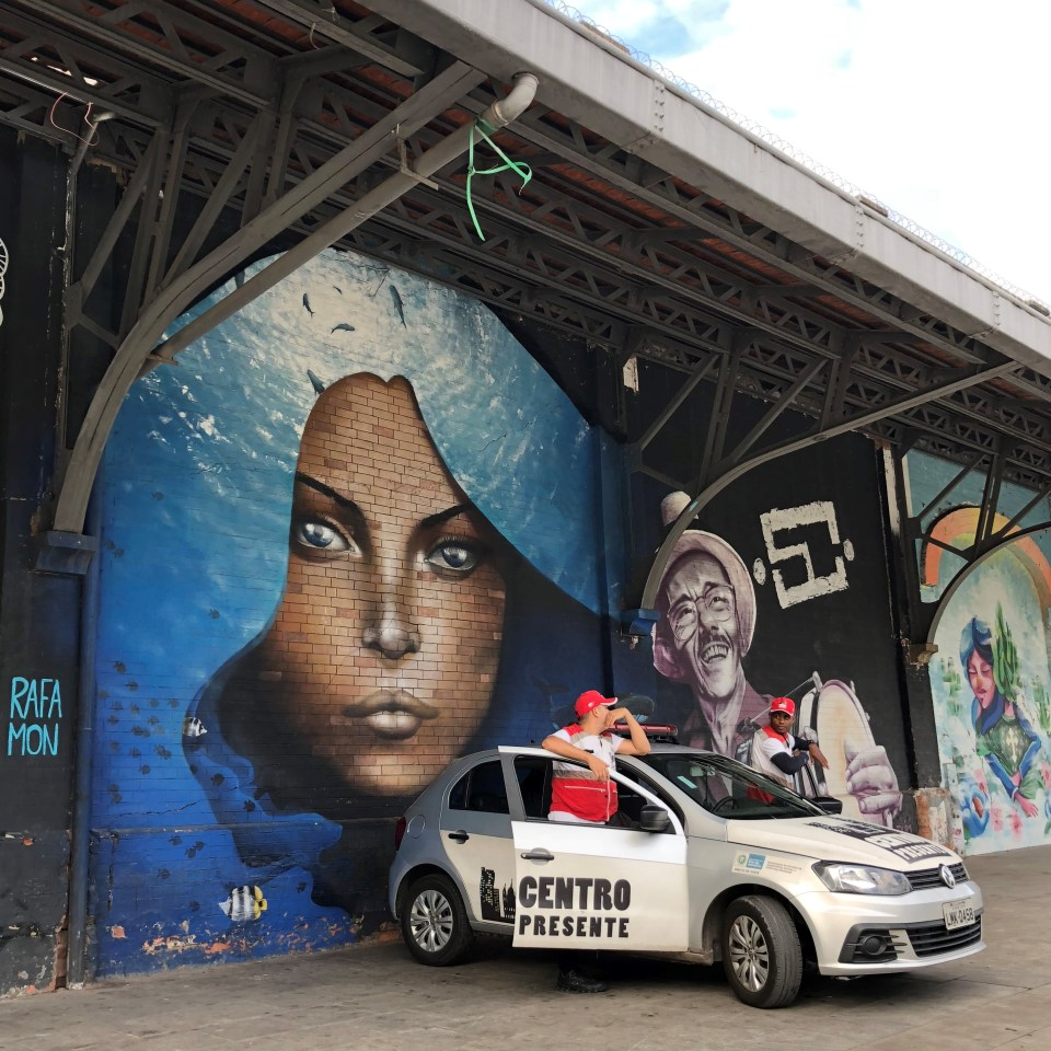 Rio Olympic Boulevard Mural 7