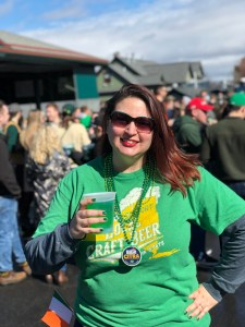 Green Beer Sunday - Me!