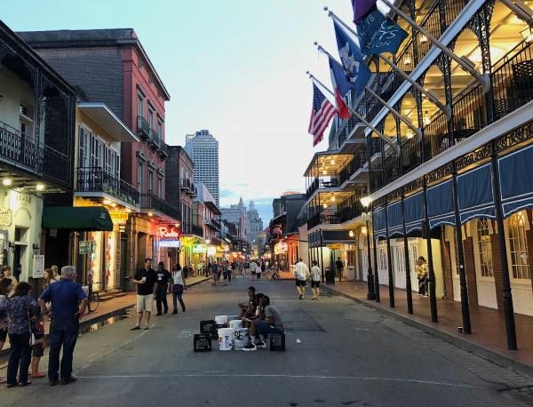 Bourbon Street, New Orleans