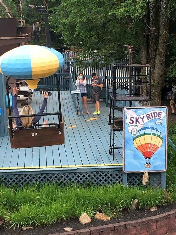 Enchanted Forest Skyride