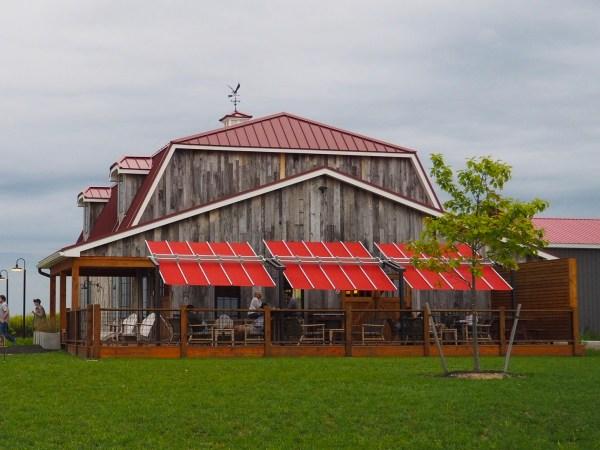Oak and Apple Cider Barn