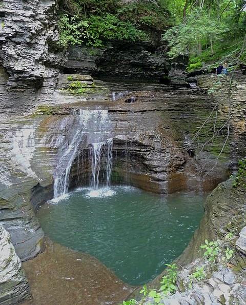 Buttermilk Falls Cove