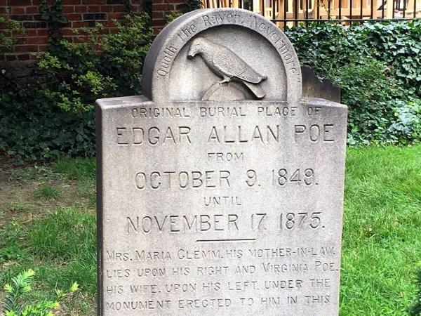 Edgar Allan Poe Gravesite