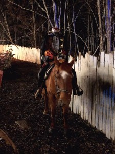 Headless Horseman at Frightmare Farms Haunted House in Syracuse