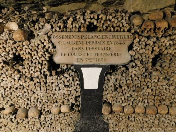 Paris Catacombs Bones