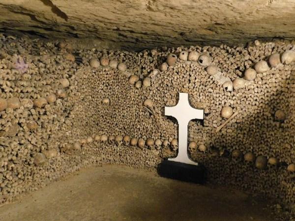 Paris Catacombs Cross