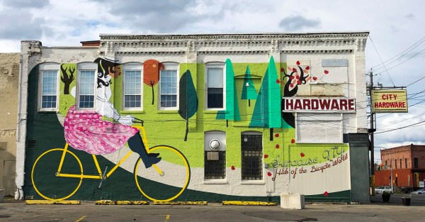 Bicycle Mural