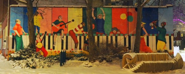 Westcott Street Mural