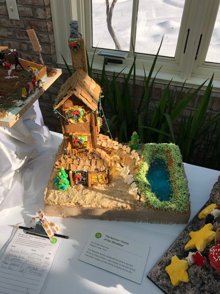 Harry Potter Gingerbread House