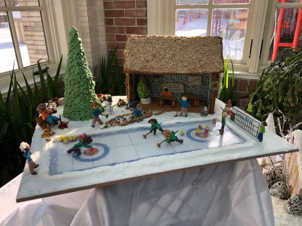 Canadian Gingerbread House