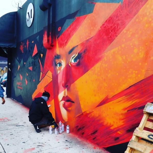 Artist in Wynwood