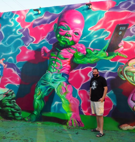 Baby Hulk Mural Wynwood