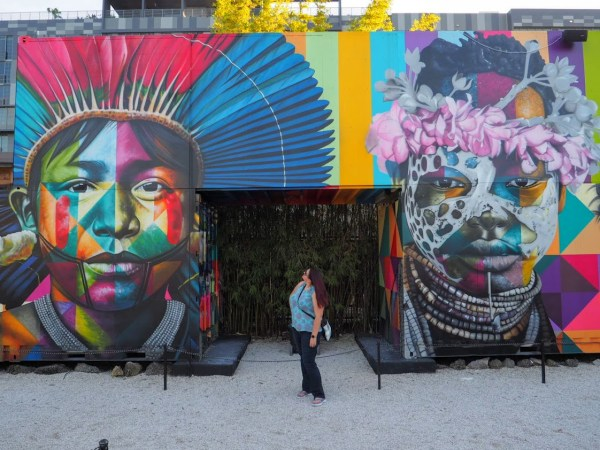 Dani at Kobra Mural Wynwood