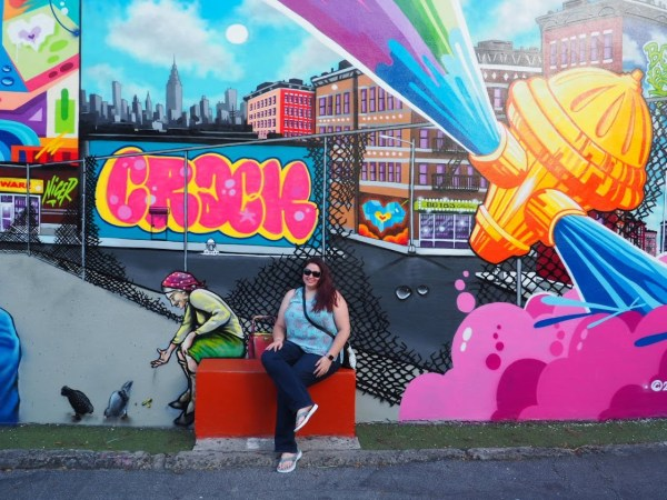 Dani at Wynwood Mural