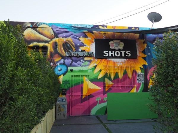 Shots Mural