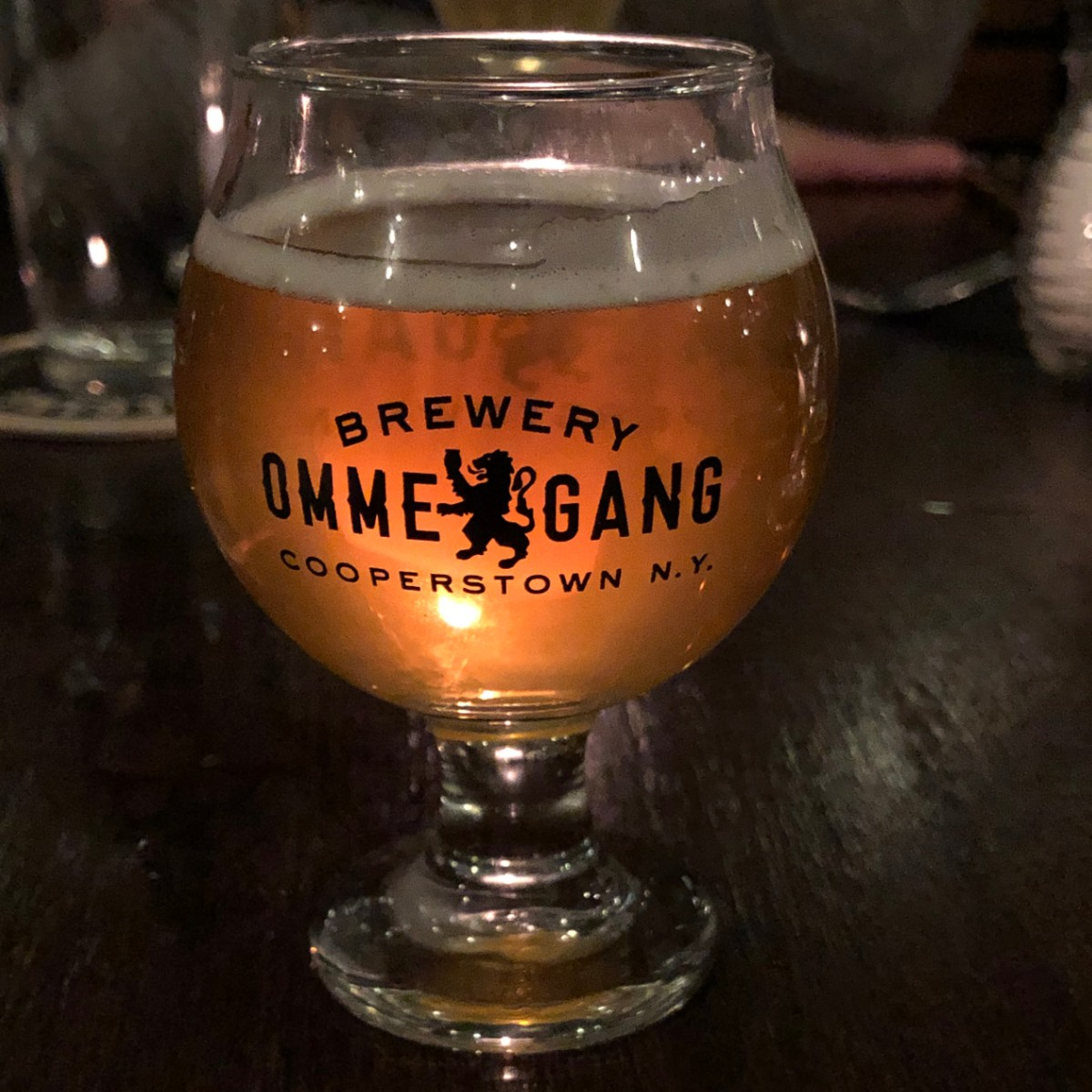 Ommegang Beer Glass