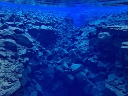 Silfra Underwater View
