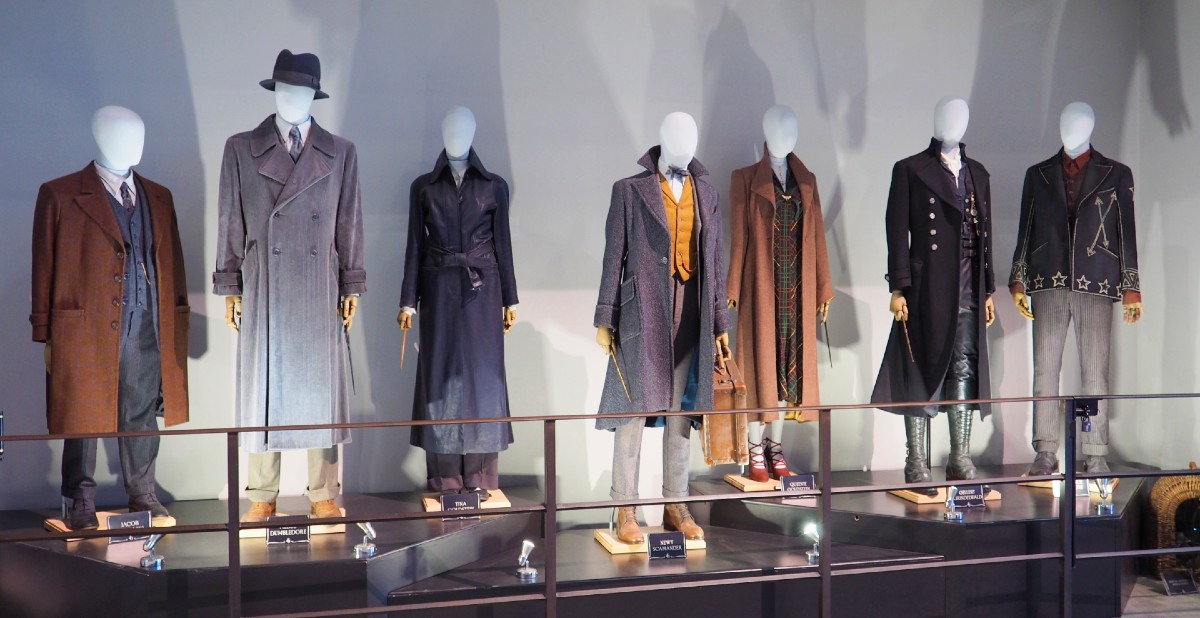 Costumes from Fantastic Beasts