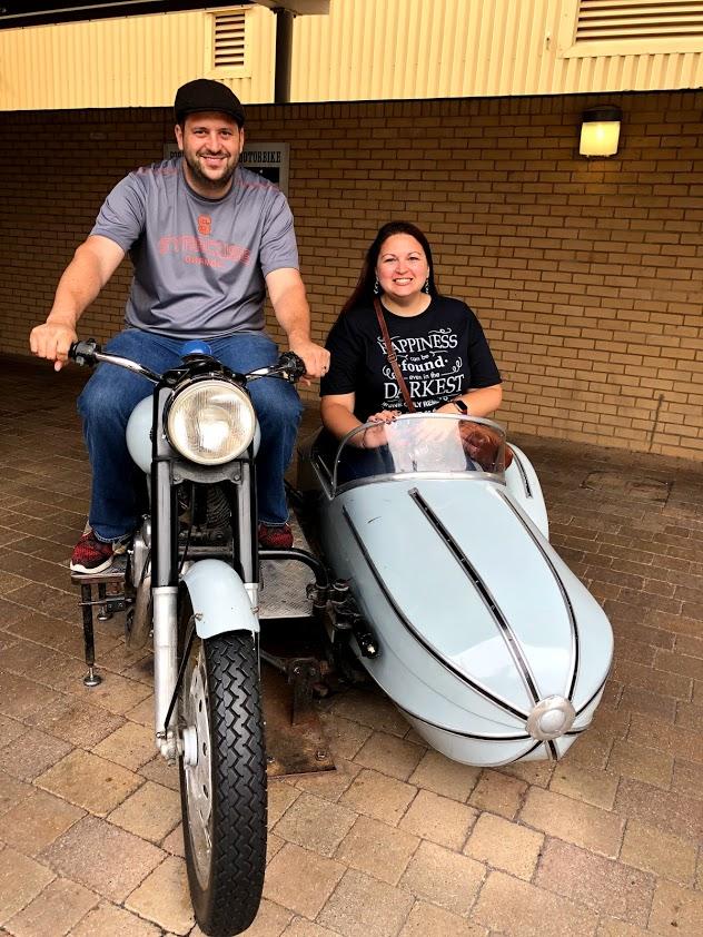 Harry Potter Studio Tour - Hagrids Motorcycle