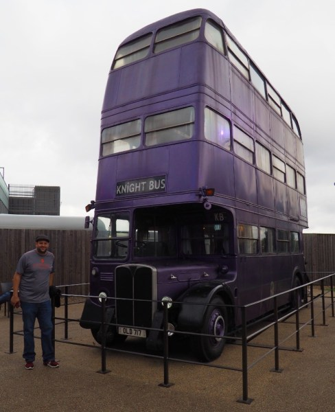 Harry Potter Studio Tour - Knight Bus