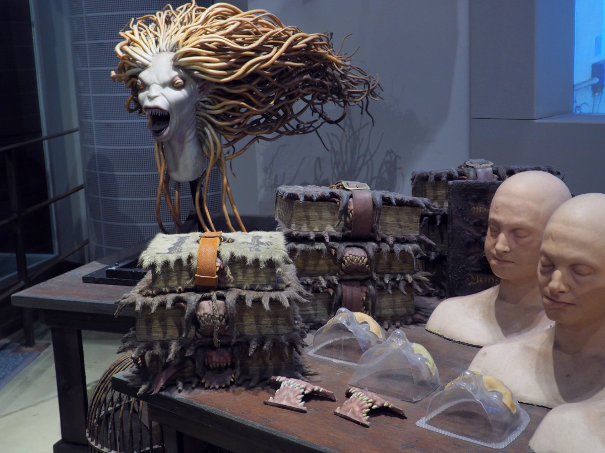 Harry Potter Studio Tour - Monster Book and Merperson