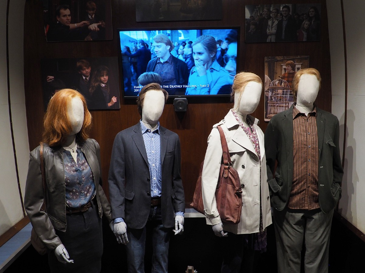 Harry Potter Studio Tour - Older Costumes