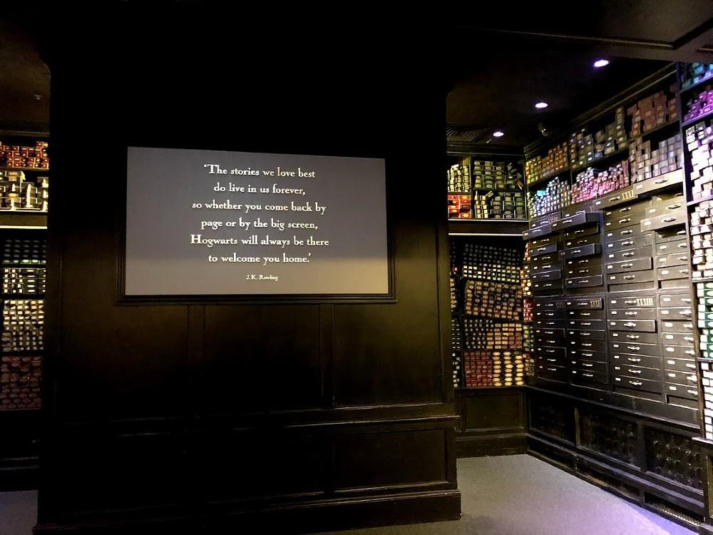 Harry Potter Studio Tour - Quote