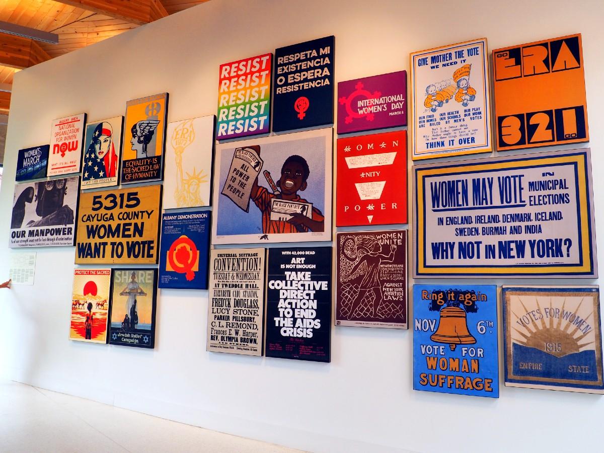 Artwork at Equal Rights Center
