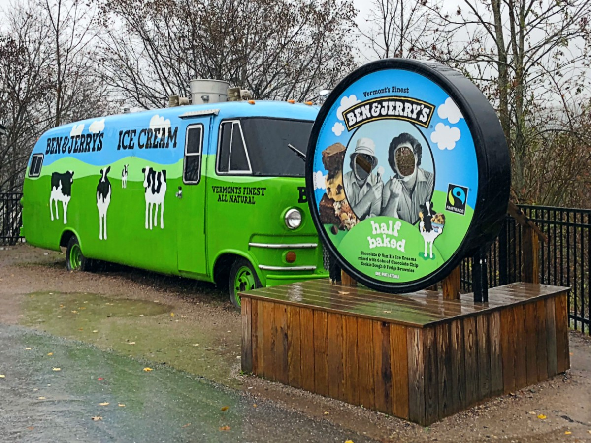 Ben and Jerrys in Burlington Vermont