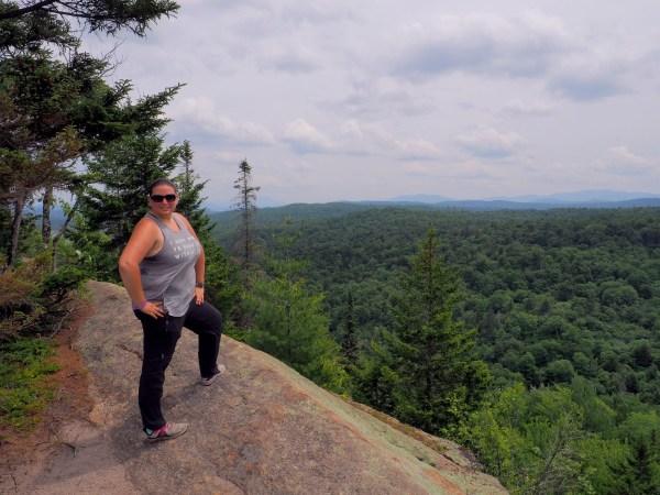 Dani on Black Bear Mountain
