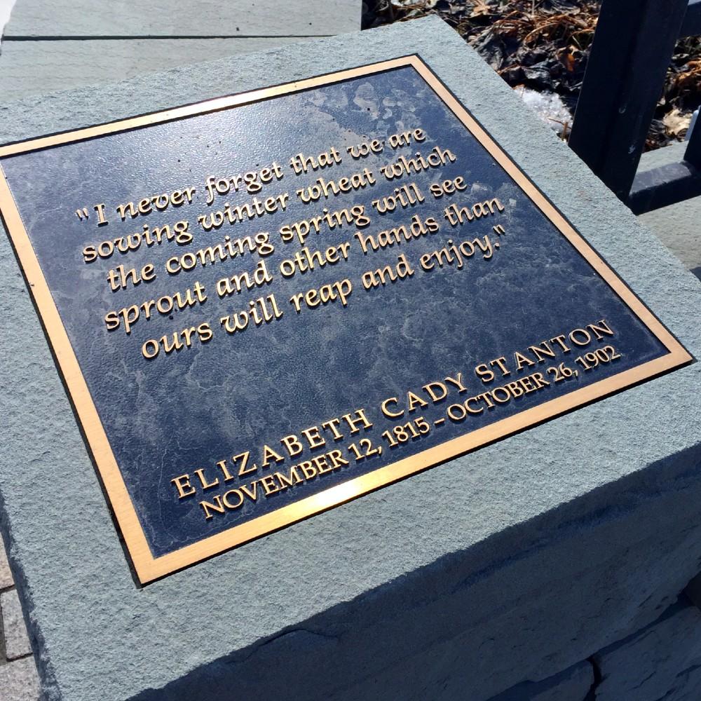 Elizabeth Cady Stanton Quote - Women's History