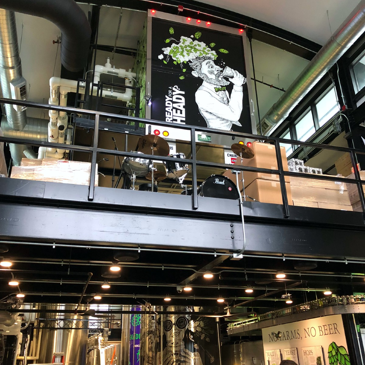 Inside Alchemist Brewery