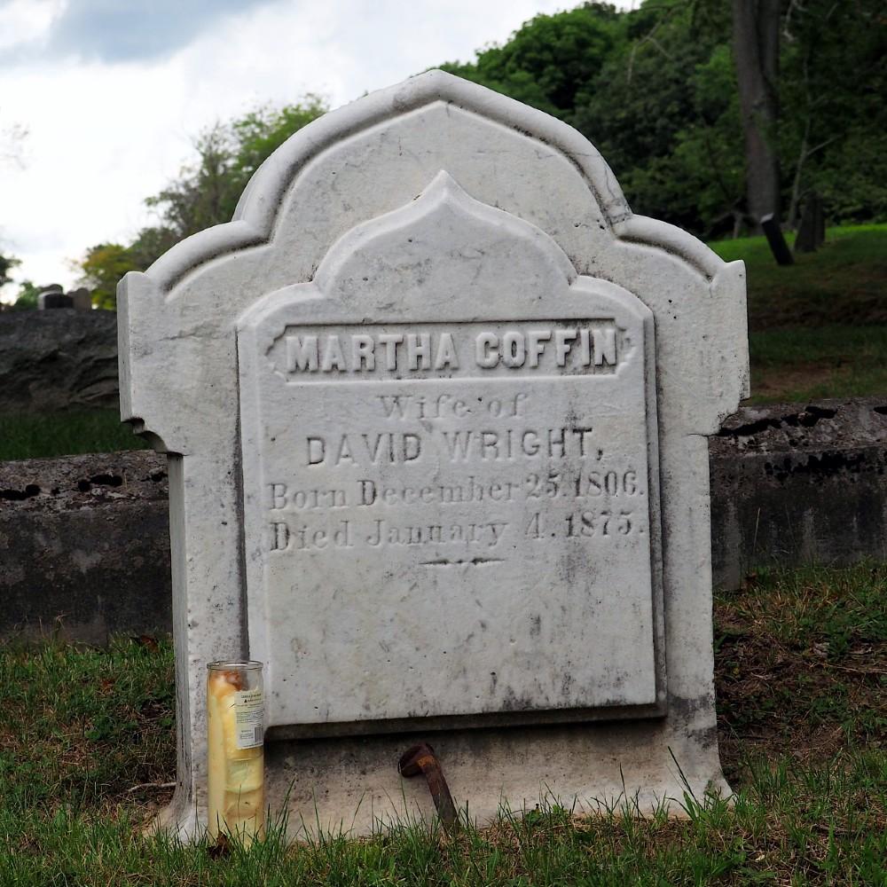 Martha Coffin Wright Grave