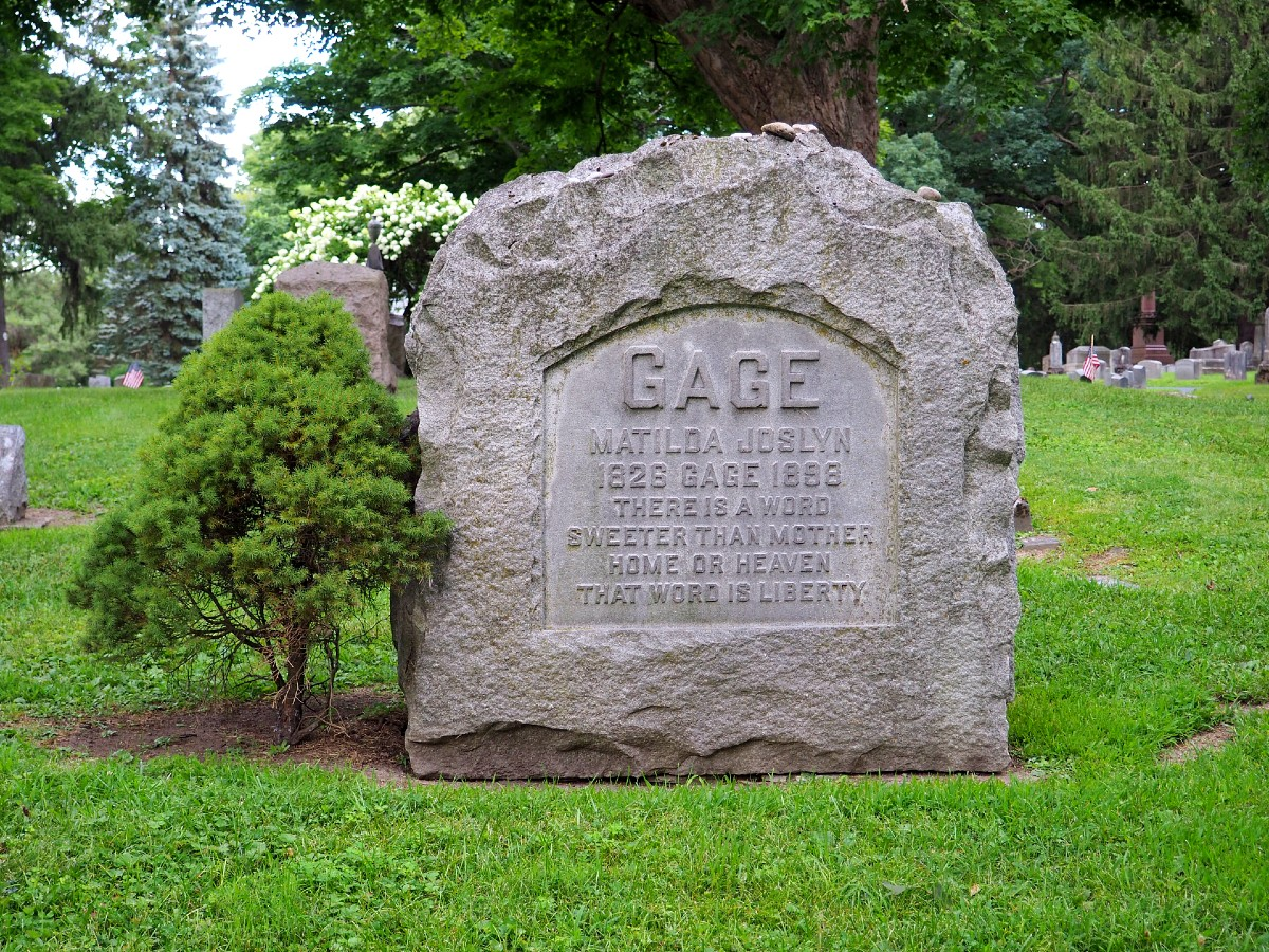 Matilda Gage Grave