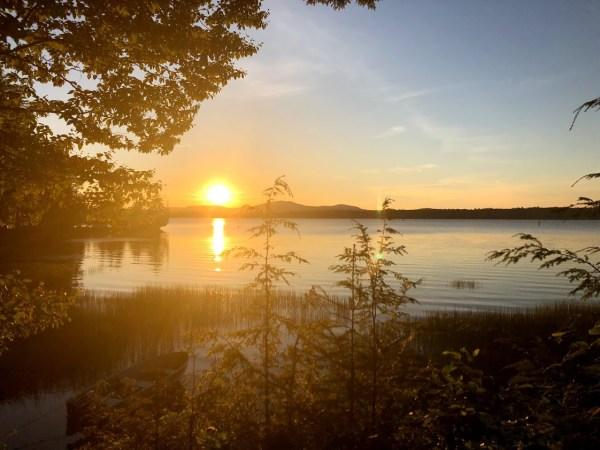 Raquette Lake Sunset 2