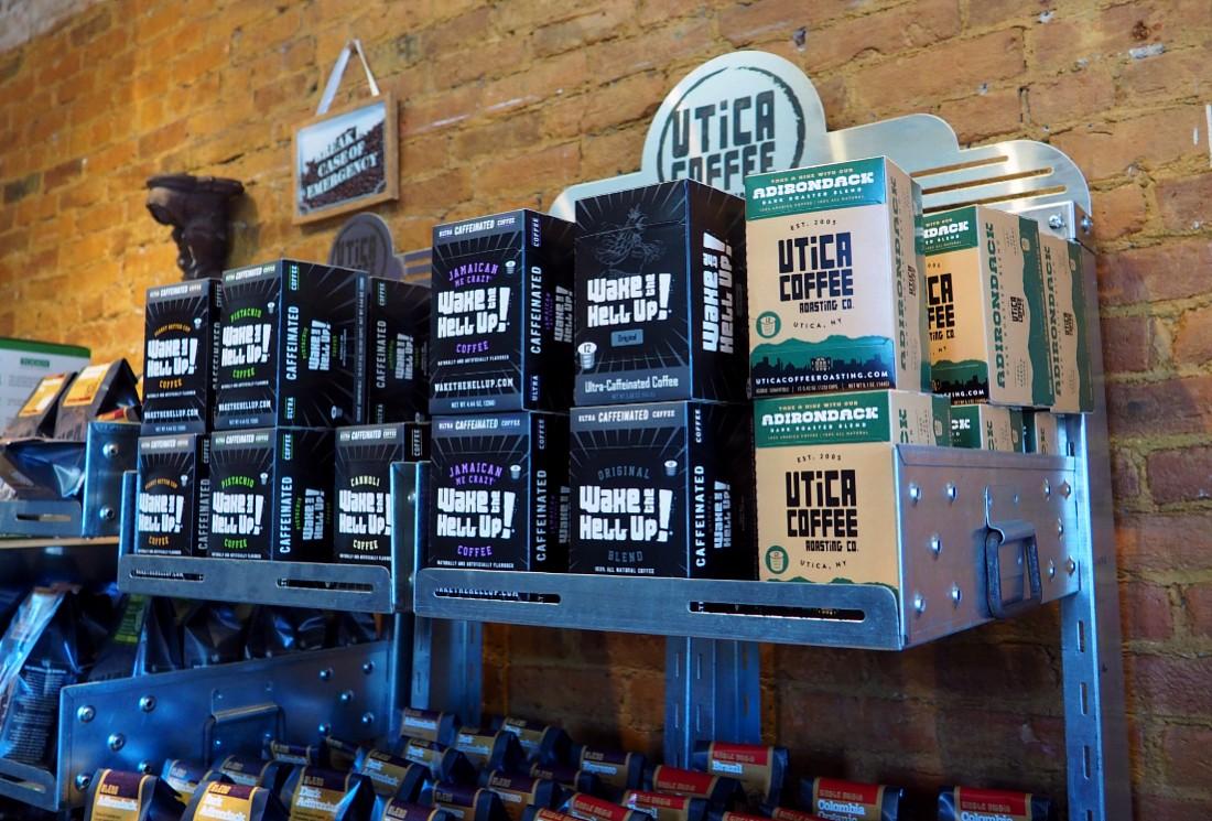 Utica Coffee Shop in Clinton