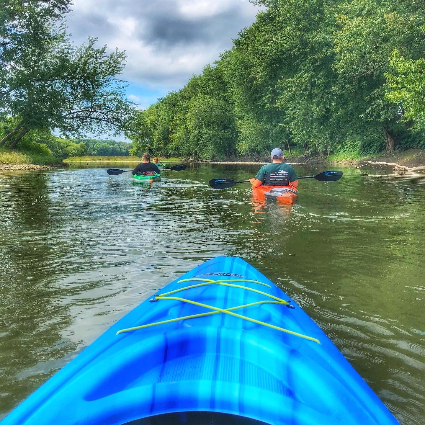 Kayaking on Susquehanna River