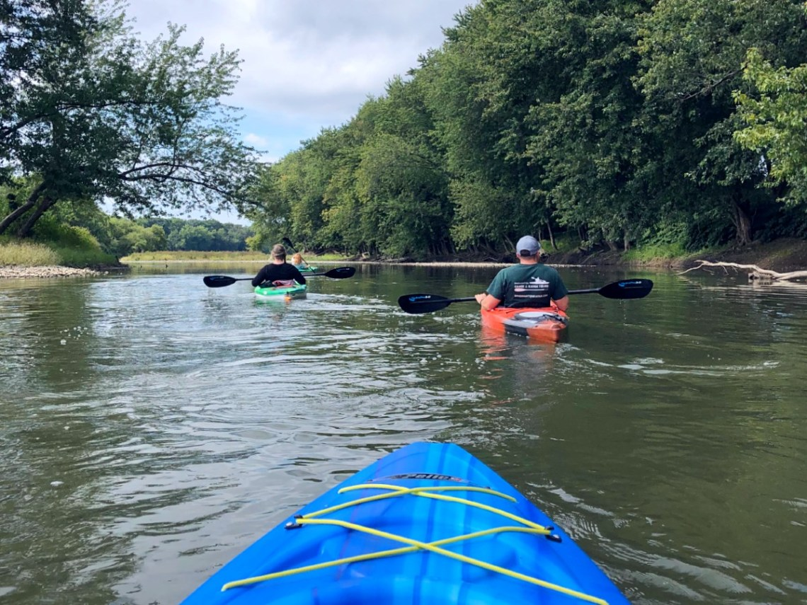 Weekend in Binghamton - Kayaking